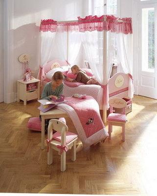 Mezzaline - Chambre enfant 4-10 ans-Mezzaline-SMALL WORD BALDAQUIN