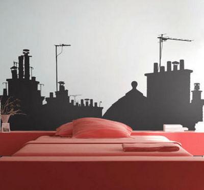 PARISTIC - Sticker-PARISTIC-Sur les toits vue A small