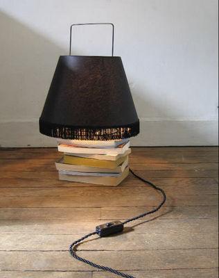 La Corbeille Editions - Lampe à poser-La Corbeille Editions-Abatladeur moyen modèle noir