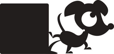 DECOLOOPIO - Sticker Décor adhésif Enfant-DECOLOOPIO-Sticker ardoise : hector qui s'oubli