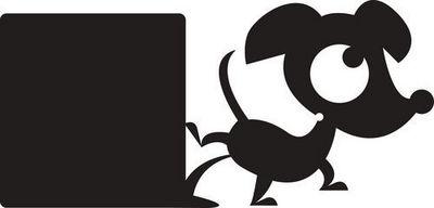 DECOLOOPIO - Sticker D�cor adh�sif Enfant-DECOLOOPIO-Sticker ardoise : hector qui s'oubli