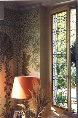 Iksel - Panneau décoratif-Iksel-TREILLIS EXOTICA