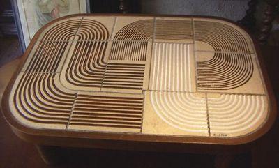 ACI Antiquités - Table basse rectangulaire-ACI Antiquités-Table basse