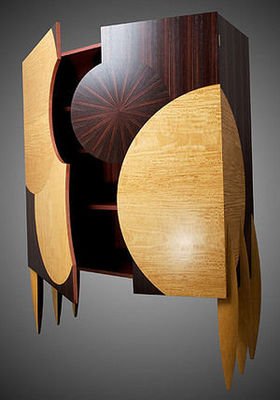 galerie-artetdesign.com - Cabinet-galerie-artetdesign.com-Bois et marqueté