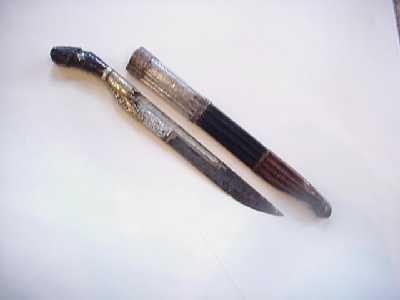 Aux Armes d'Antan - Poignard-Aux Armes d'Antan-couteau de Ceylan, XIXème siècle