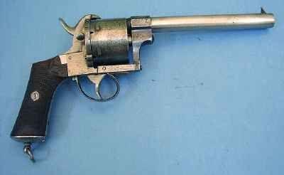 Pierre Rolly Armes Anciennes - Pistolet et révolver-Pierre Rolly Armes Anciennes-revolver système LEFAUCHEUX
