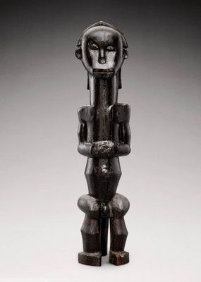 Galerie Serge Schoffel - Statuette-Galerie Serge Schoffel-Figure de reliquaire