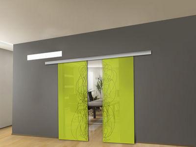 Mantion - Porte de communication vitrée-Mantion-Urban style