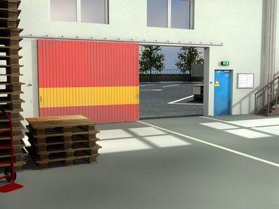 Mantion - Porte coulissante-Mantion-SPORTUB