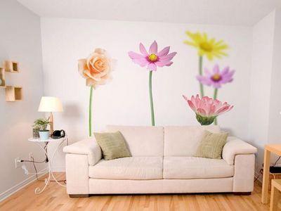 DECLIK - Lé unique de papier peint-DECLIK-Floral