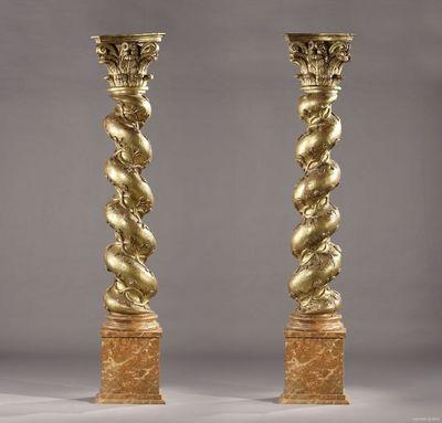 Galerie Atena - Colonne-Galerie Atena-Colonnes torsadées italiennes