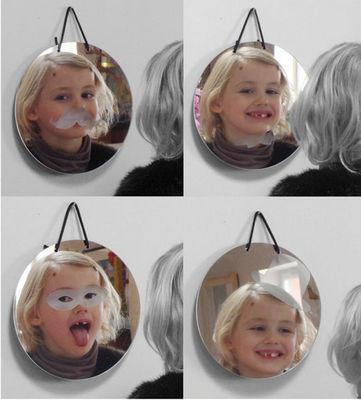METYLOS - Miroir sérigraphié-METYLOS-Crazy
