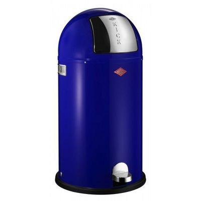 Wesco - Poubelle de cuisine-Wesco-Kickboy 40L bleu