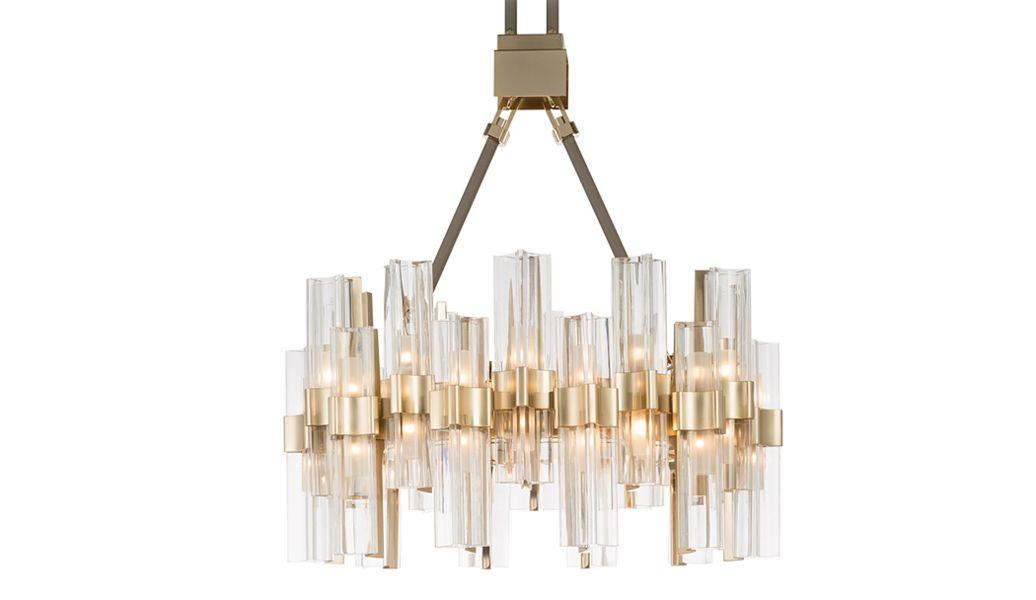 Officina Luce Chandelier Chandeliers & Hanging lamps Lighting : Indoor  |