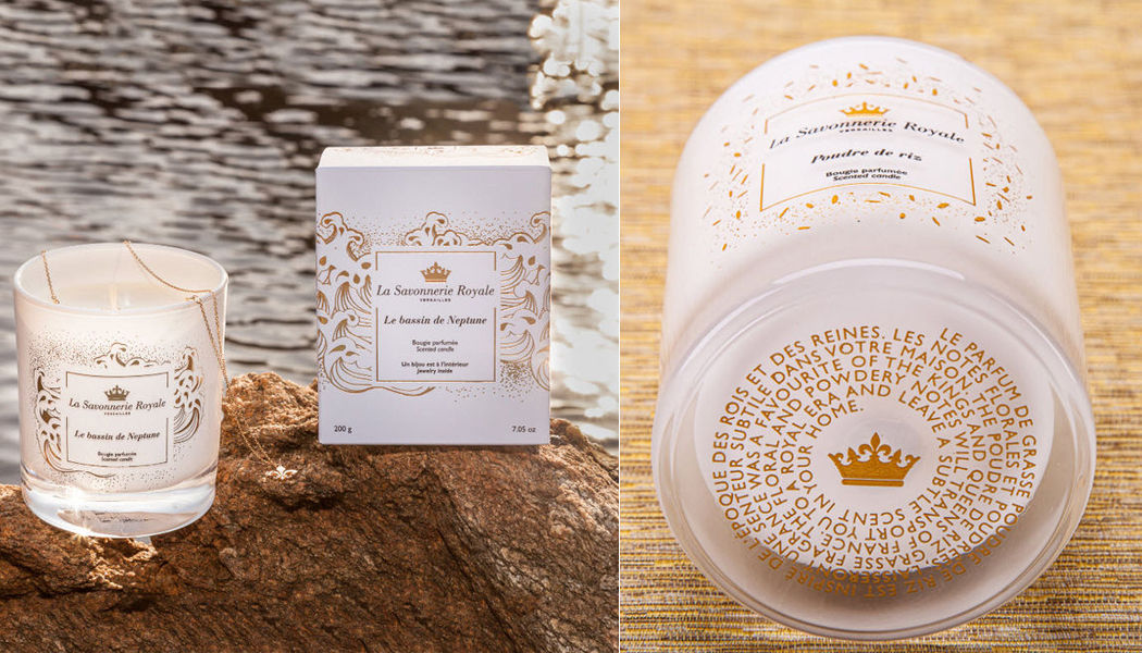 LA SAVONNERIE ROYALE Scented candle Scents Flowers and Fragrances  |