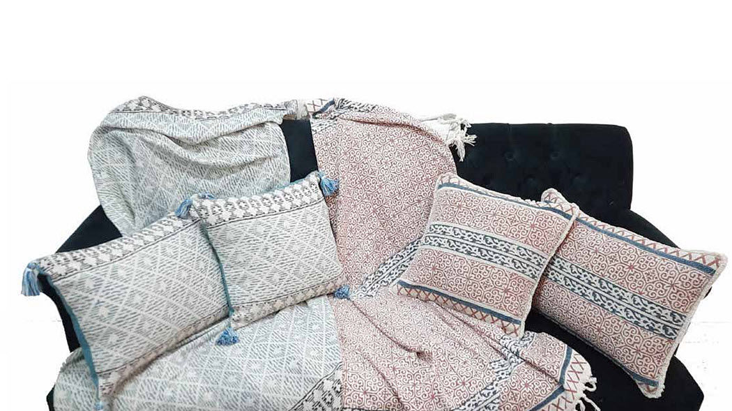 Wax Design Square Cushion Pillows & pillow-cases Household Linen  |