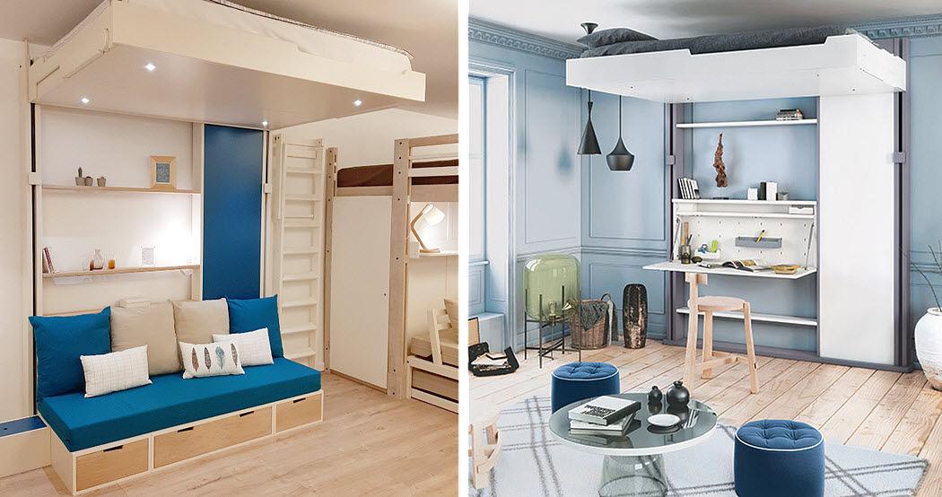 Espace Loggia Fold Away bed Foldaway beds Furniture Beds  |