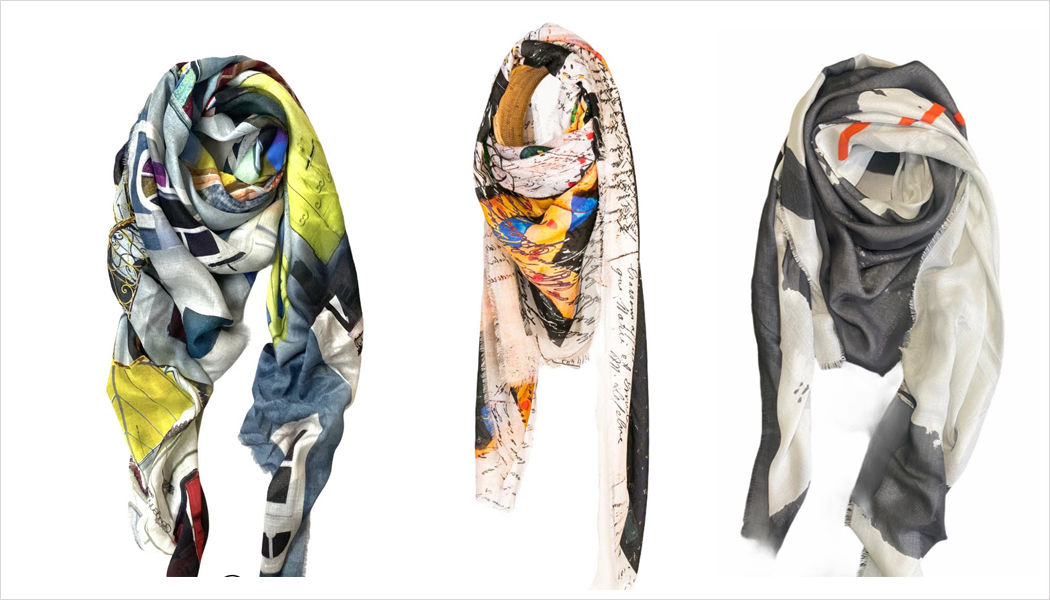 ISABELLE GOUGENHEIM DESIGNS Square scarf Clothing Beyond decoration  |
