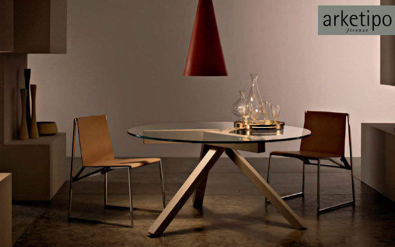 Arketipo Round diner table Dining tables Tables and Misc. Dining room | Design Contemporary