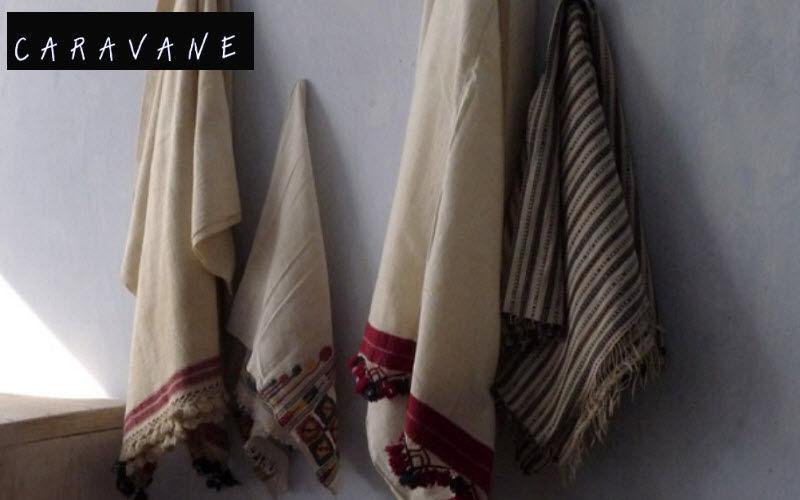 Caravane Tartan rug Bedspreads and bed-blankets Household Linen  |