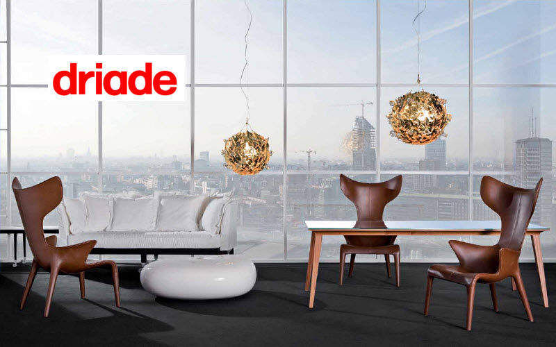 DRIADE Armchair with headrest Armchairs Seats & Sofas Dining room | Eclectic