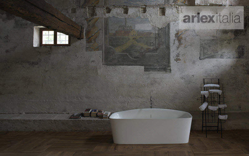 Arlexitalia Freestanding bathtub Bathtubs Bathroom Accessories and Fixtures Bathroom |