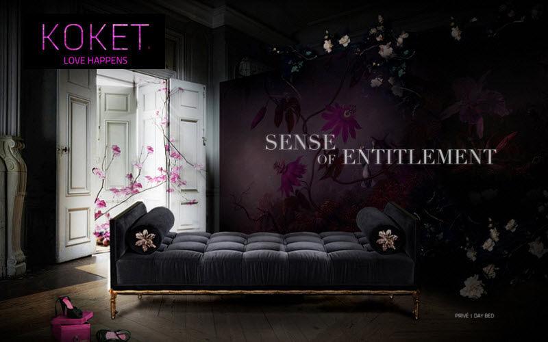 KOKET LOVE HAPPENS Lounge day bed Single beds Furniture Beds  |
