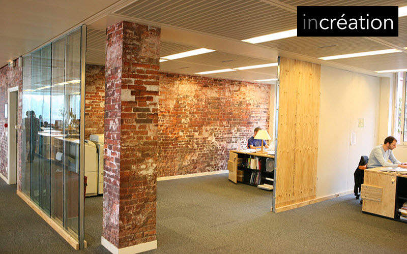 IN CREATION Panoramic wallpaper Wallpaper Walls & Ceilings Workplace | Eclectic