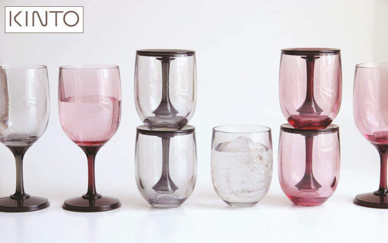KINTO Goblet Glasses Glassware Kitchen | Design Contemporary