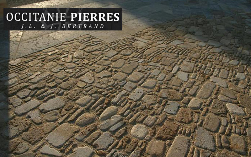 Occitanie Pierres Pebblestone Outside floors Flooring  |