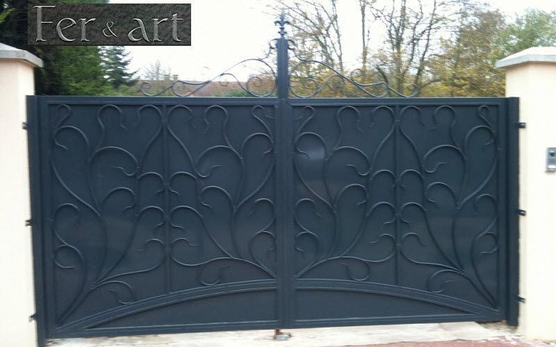 Fer et Art Casement gate Gates and entrances Garden Gazebos Gates...   