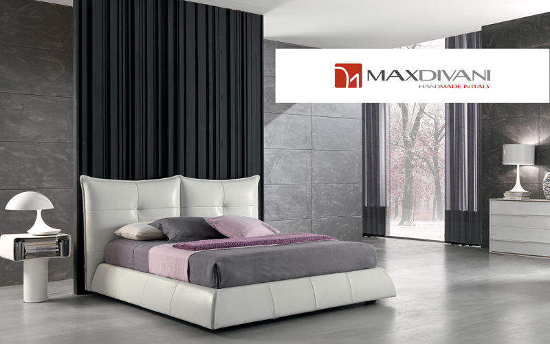 MAX DIVANI Double bed Double beds Furniture Beds Bedroom | Design Contemporary