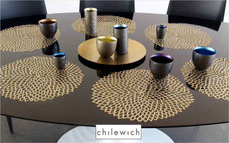 CHILEWICH Place mat Table sets Table Linen Dining room | Design Contemporary