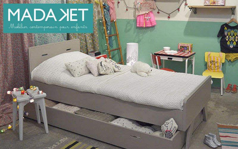 MADAKET Children's bed with drawers Children's beddrooms Children's corner  |
