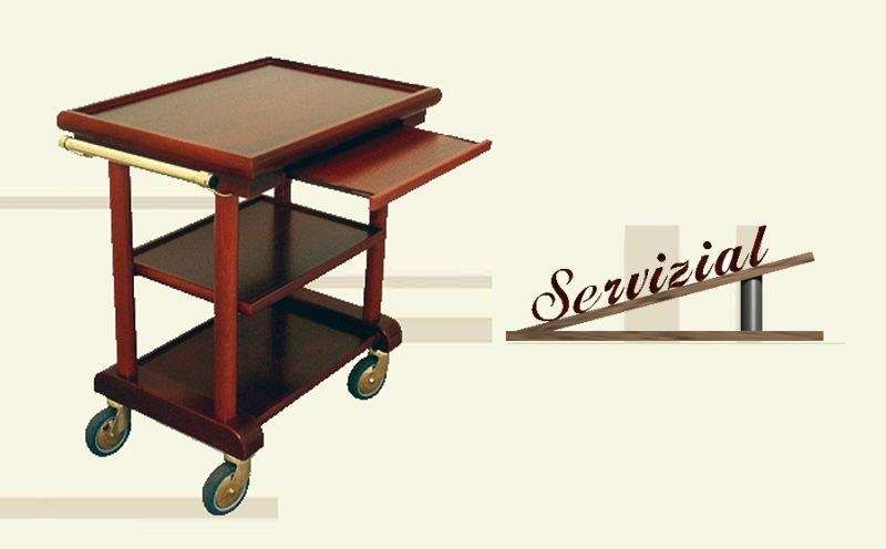 Servizial Table on wheels Chariots and tables on wheels Tables and Misc.  |