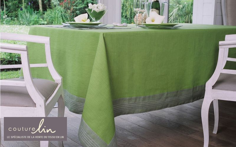 COUTURE LIN Rectangular tablecloth Tablecloths Table Linen  |