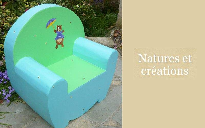 NATURES ET CRÉATIONS Children's armchair Seats (Children) Children's corner  |