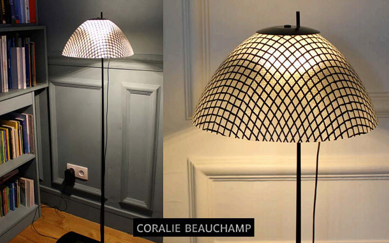 CORALIE BEAUCHAMP Floor lamp Lamp-holders Lighting : Indoor  |