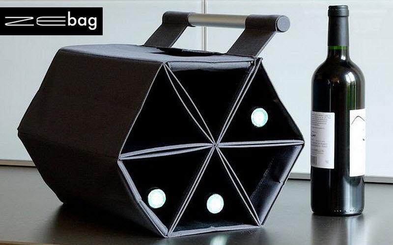 ZEBAG Wine bottle tote Storage Kitchen Accessories  |
