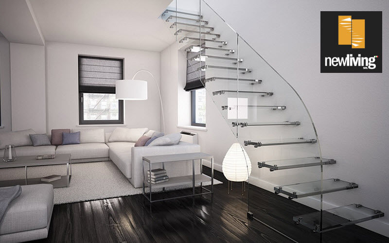 NEWLIVING Straight staircase Stairs and ladders House Equipment   