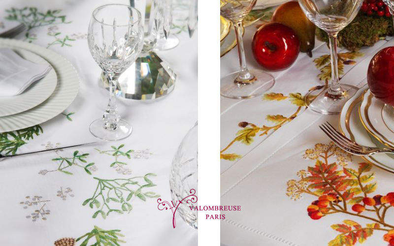 Valombreuse Christmas tablecloth Christmas decorations Christmas and Holidays  |