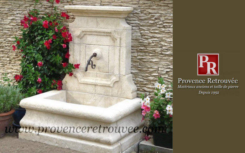 Provence Retrouvee Wall fountain Fountains Garden Pots  |