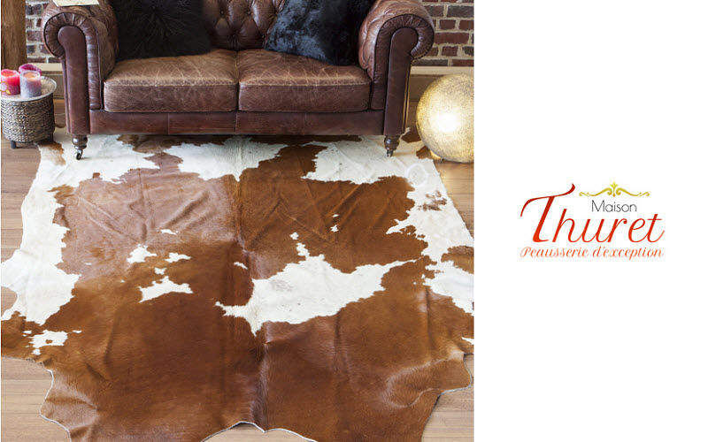 MAISON THURET Cow skin Animal skins Carpets Rugs Tapestries  |