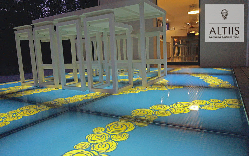 ALTIIS Glass tile Paving Flooring  |