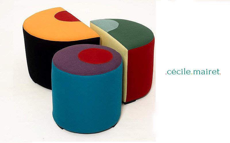 Cécile Mairet Floor cushion Footstools and poufs Seats & Sofas  |