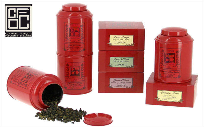 Compagnie Francaise de l'Orient et de la Chine Flavoured tea Gastronomy Kitchen Accessories  |