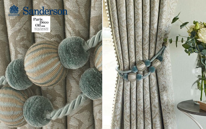 Sanderson Tieback Curtain tiebacks Curtains Fabrics Trimmings  |