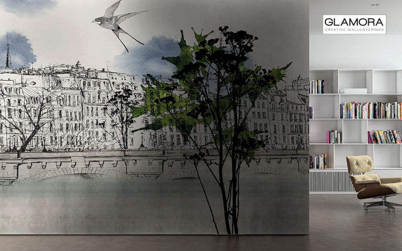 GLAMORA Panoramic wallpaper Wallpaper Walls & Ceilings   