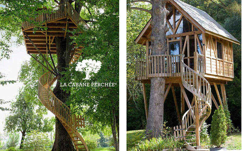 La Cabane Perchee Treehouse Shelters and summer houses Garden Gazebos Gates...  |