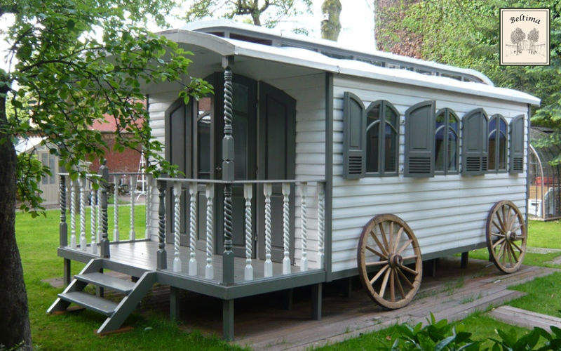 Beltima Horse-drawn Caravan Garden Gazebos Gates...  |